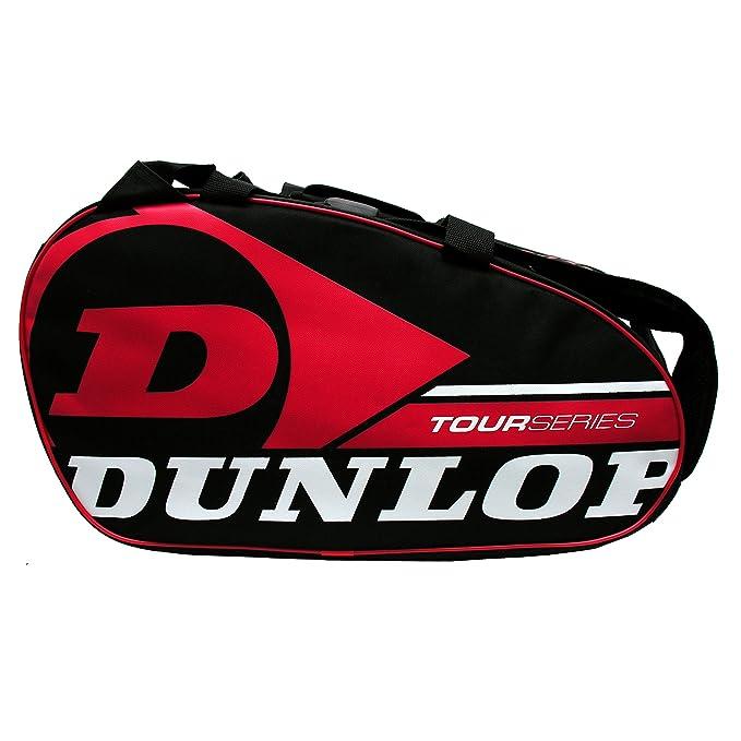 Paletero de pádel Dunlop Tour Intro Negro / Rojo