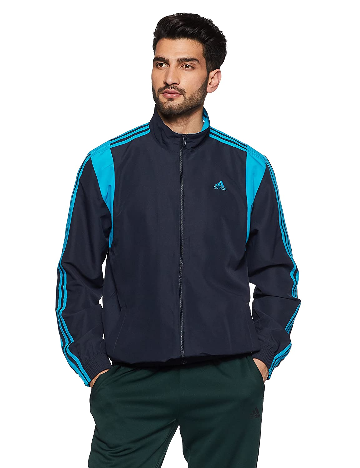 Adidas Men's Synthetic Track Jacket