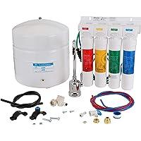 Watts Premier RO-Pure con grifo cromado Sistema de filtración de agua de ósmosis inversa de 4 etapas, WP531411