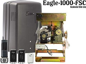 Abridor de puerta deslizante para el hogar Eagle 1000 FSC 1/2 HP ...