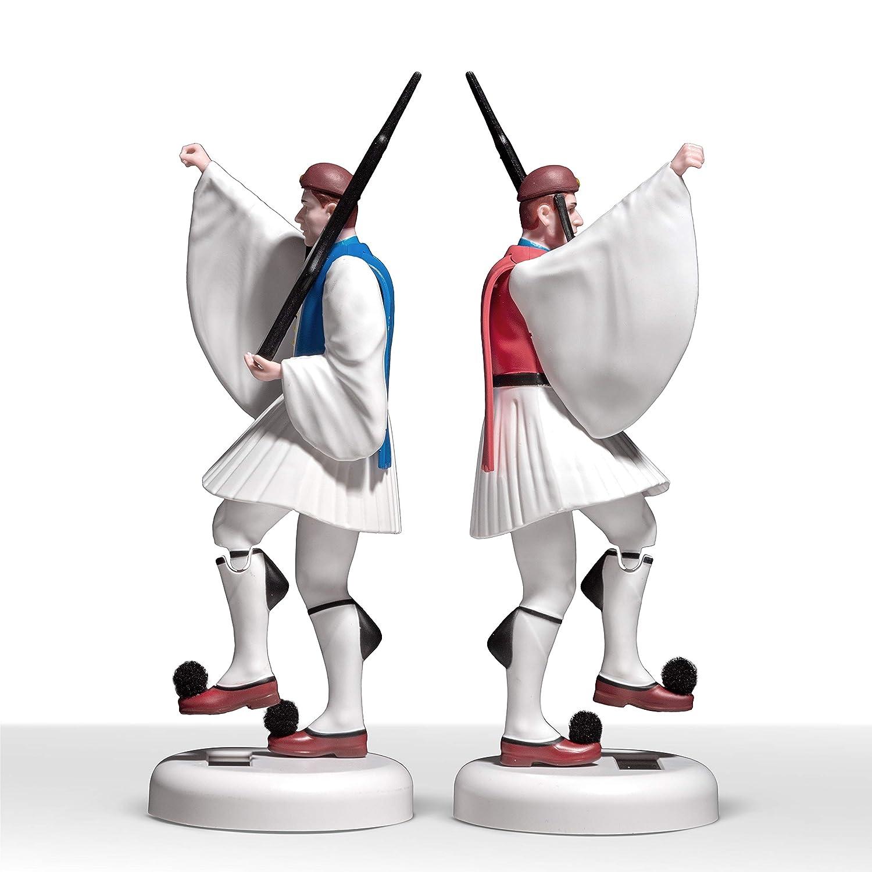 Amazon.com: TSOLIAS.Club Evzonas - Figura decorativa, Rojo ...
