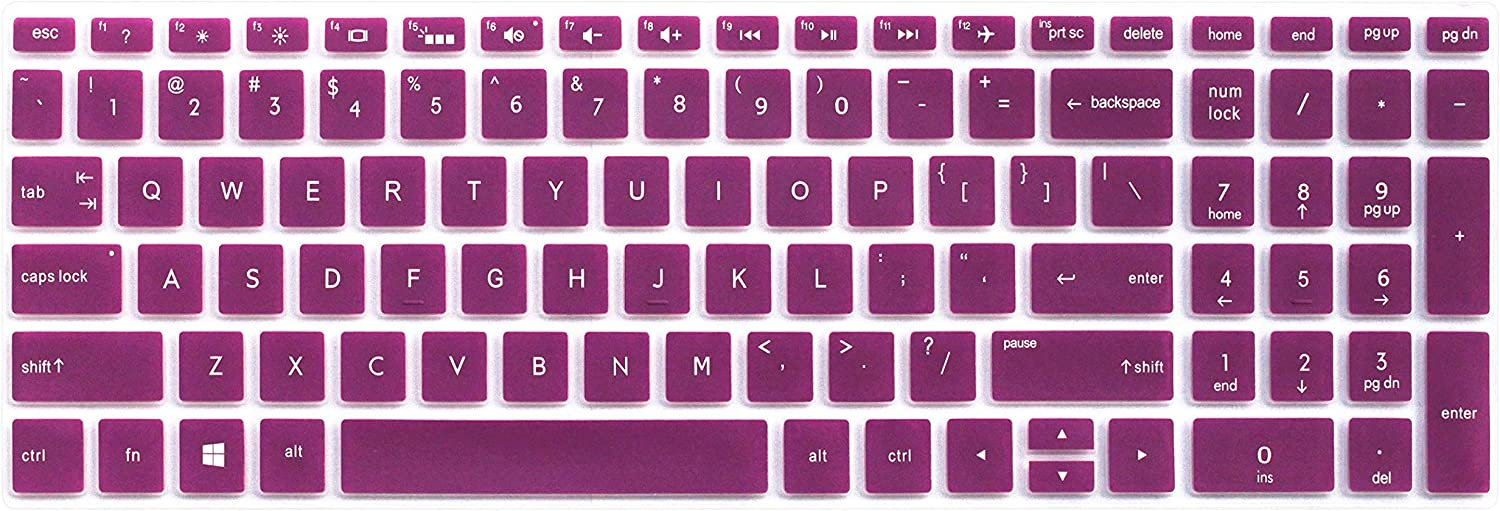 Silicone Keyboard Cover for 15.6