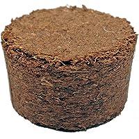 Kokosquelltabletten ca. Ø 22 mm, 252 Stück (Preis je Stück: 7 Cent), Kokosquelltöpfe, Kokosquellerde, torffreie Anzuchterde aus gepressten Kokosfasern, ergibt ca. 25-30 ml je Tablette