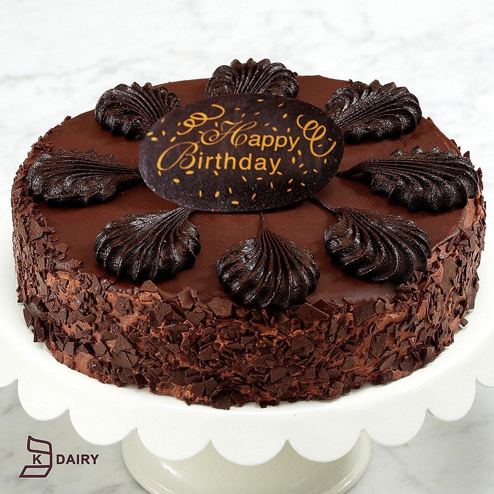 Shari's Berries - Happy Birthday Chocolate Mousse Torte - 1 Count ...