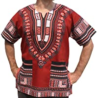 RaanPahMuang - Camiseta africana unisex de algodón, varios