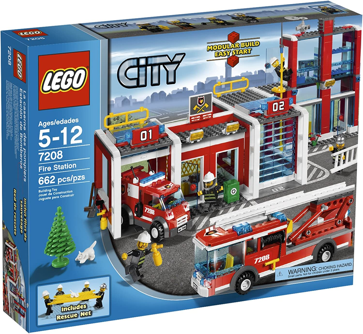 Best Lego City Fire Station 60215 Building Set With ...