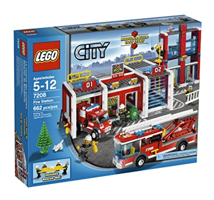 Amazon Lego City Fire Station 7208 Toys Games