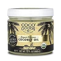 CocoGoodsCo Vietnam Single-Origin Organic Premium Coconut Oil, Centrifuge Extracted...