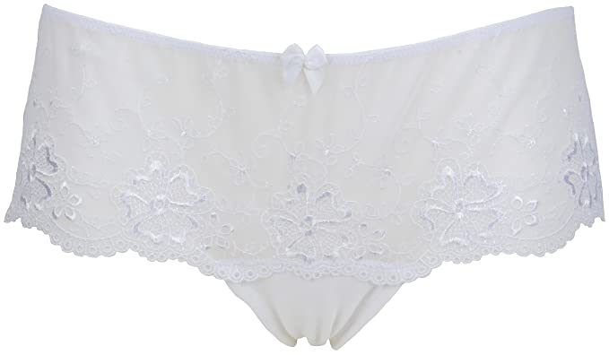 Ex Store Floral Lace Low Rise Shortie Knickers