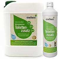 awiwa Sanitärflüssigkeit für Campingtoilette & Toiletten-Zusatz Chemie WC