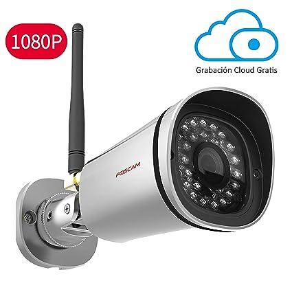 Cámara IP WiFi HD 1080P Foscam FI9900P, Vigilancia Interior. 8H GRABACIÓN EN LA NUBE