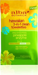 product image for Alba Botanica 3 In 1 Hawaiian Towelettes, 10 Count