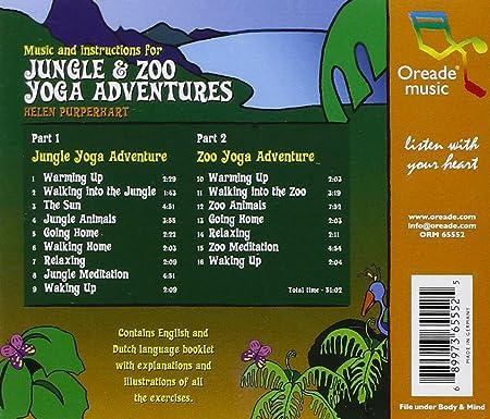Jungle & Zoo Yoga Adventures: Helen Puperhart: Amazon.es: Música