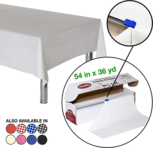 Square Paper Tablecover Table Covers Cloths Party Colour 1 5 10 15 20 25