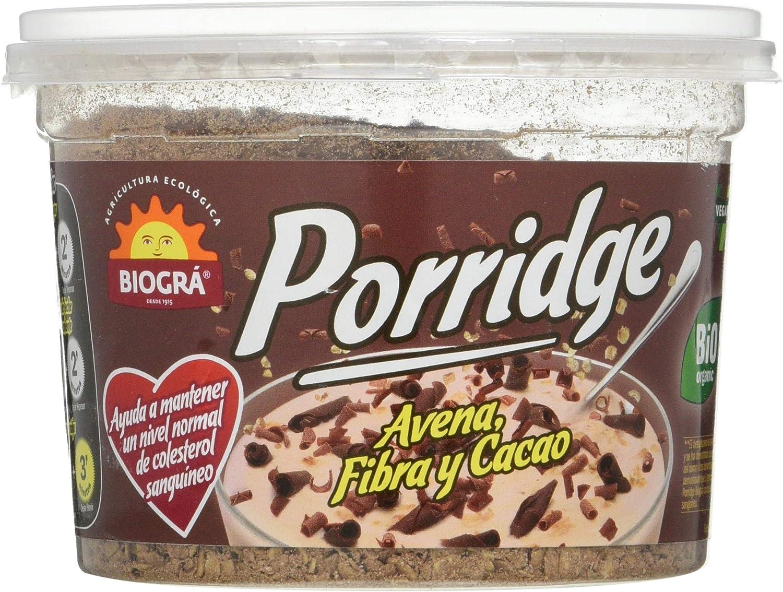 Biográ Bio-Porridge De Avena Con Chocolate Biogra Biográ ...