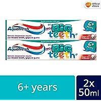 Aquafresh Big Teeth ToothPaste, 50ml (Twin Pack)