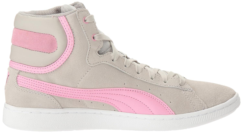 PUMA Women's B01LPWRDG0 Vikky Mid Fashion Sneaker B01LPWRDG0 Women's 8.5 M US|Gray Violet-prism Pink 9be7f2