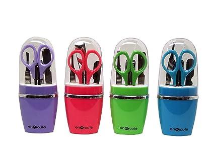 Amazon.com: 4 piezas Set de manicura multicoloreado Assorted ...