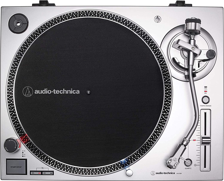 Black Audio-Technica AT-LP120XBT-USB-BK Wireless Direct-Drive Turntable