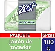 Zest Zest Jabon Antibacterial Humectacion 100g, color, 100 gram, pack of/paquete de