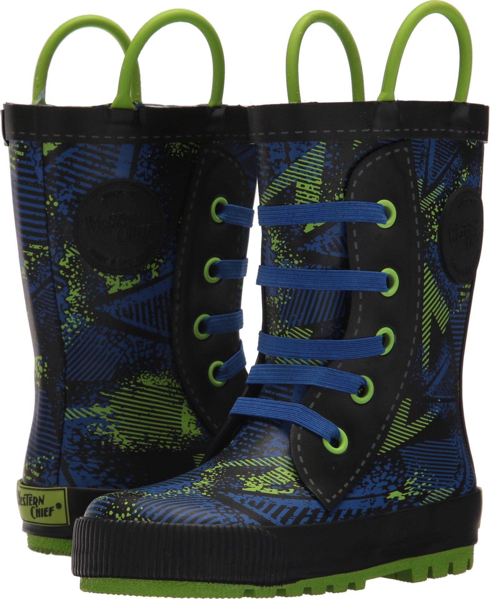 Western Chief Kids Ollie Sneaker Boot Royal Blue 12