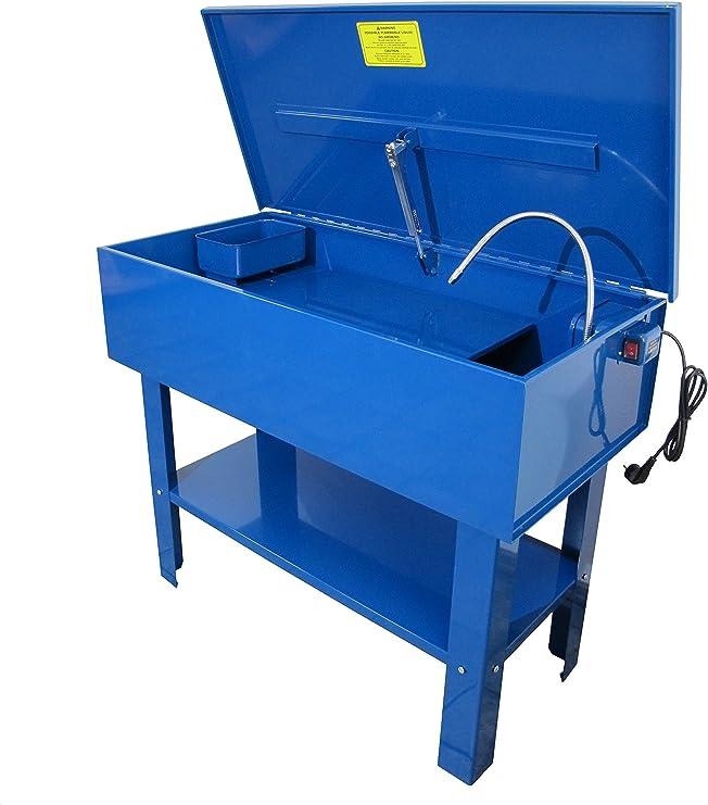 Qteck Teilewaschgerät Waschtisch Teilereiniger 150 Ltr Parts Washer Auto