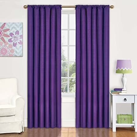 Amazon.com: Eclipse Kids Kendall Blackout Thermal Curtain Panel ...