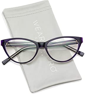 13443f69e Amazon.com: AStyles - Vintage Inspired Gradient Half Tinted Frame ...
