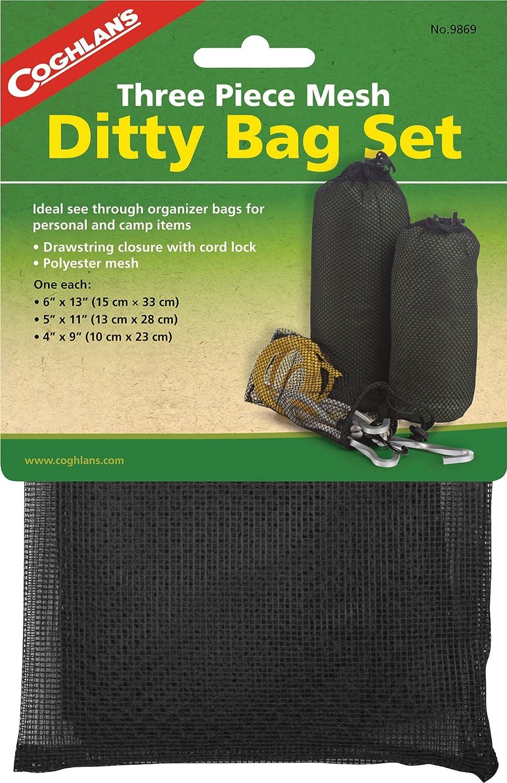 Coghlan's Three Piece Mesh Ditty Bag Set