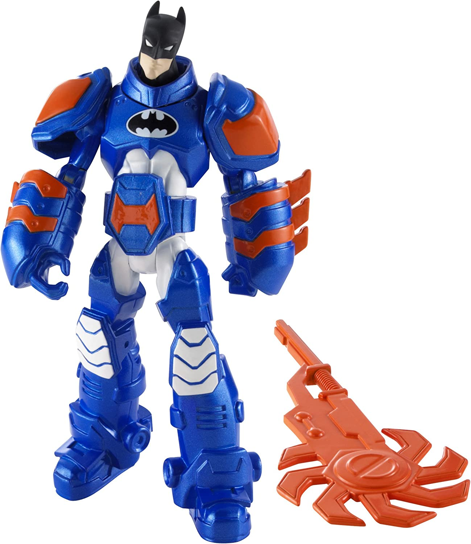 Batman - Figuras de acción, Pack Heroe Villano, Batman armadura ...
