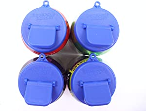 Beverage Buddee Can Cover - Best Can Cover For Standard Size Soda/Beer/Energy Drink Cans - Made In The USA - BPA-PCB Free - 4 pack (Sumner Blue)