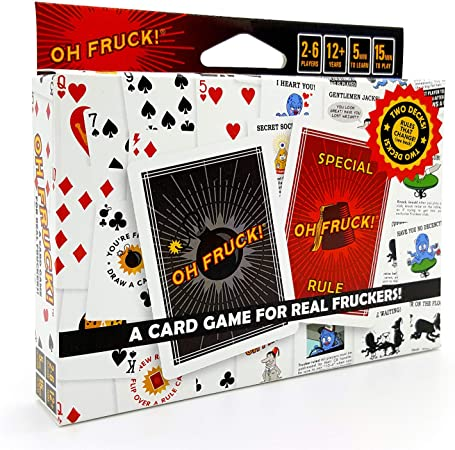 Oh Fruck! A Raucous Card Game That Combines Strategy with Special Rules That Change Every Time You Play.