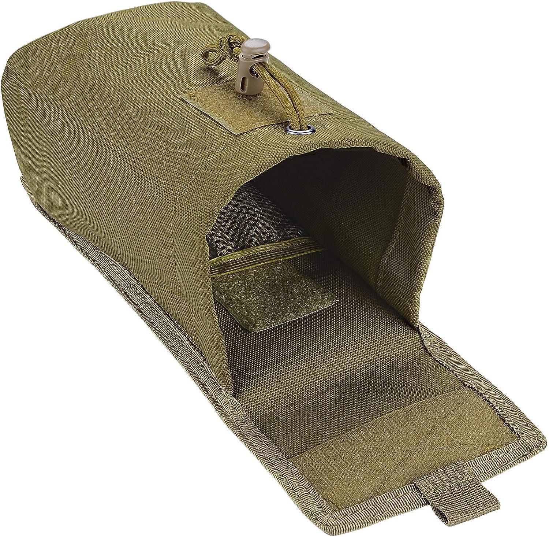 Molle Cargador Militar Bolsa Bolsillo Volcado Paquete BOOSTEADY T/áctico Compacto Bolso Plegable