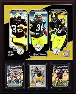 product image for NFL Pittsburgh Steelers Men's Bell-Harris-Bettis Legacy Collection Plaque, Brown