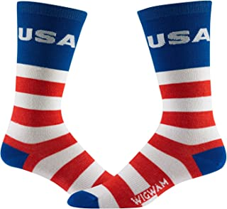 product image for Wigwam Victory Sock, Red/White/Blue, Large