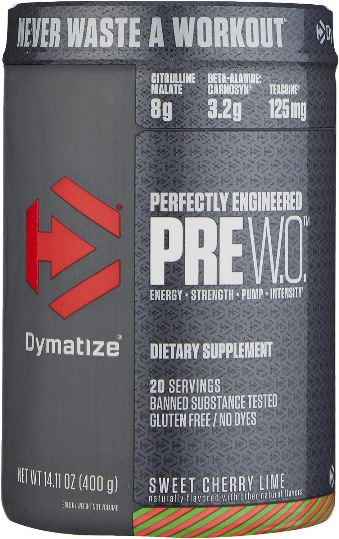 Dymatize Pre W.O. - San diego nutrition store