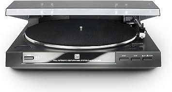 Dual DT 210 USB - Tocadiscos para equipo de audio (USB, 35/45 ...