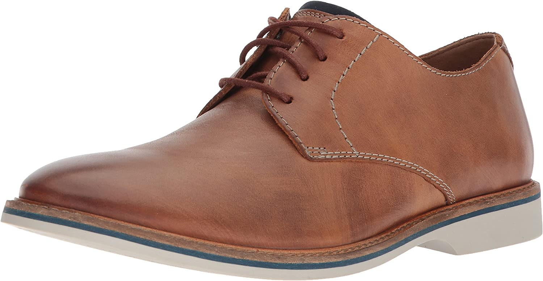 Clarks Men's Atticus Lace-Tan Leather-7