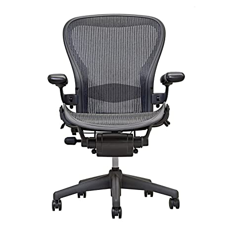 Amazon.com: Herman Miller Aeron Executive Office Chair-Size B ...