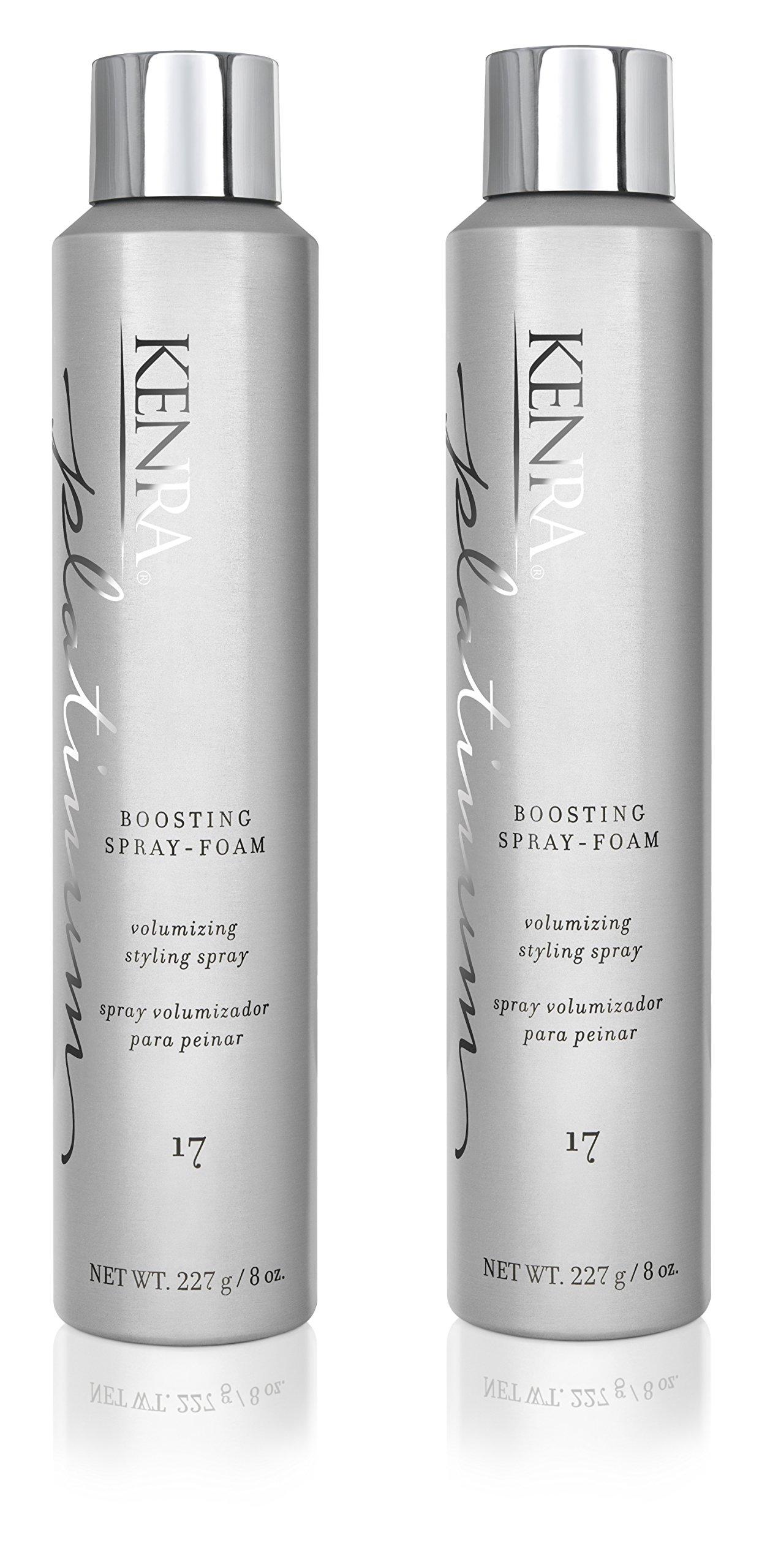 Kenra Platinum Boosting Spray Foam #17, 8-Ounce (2-Pack) by Kenra