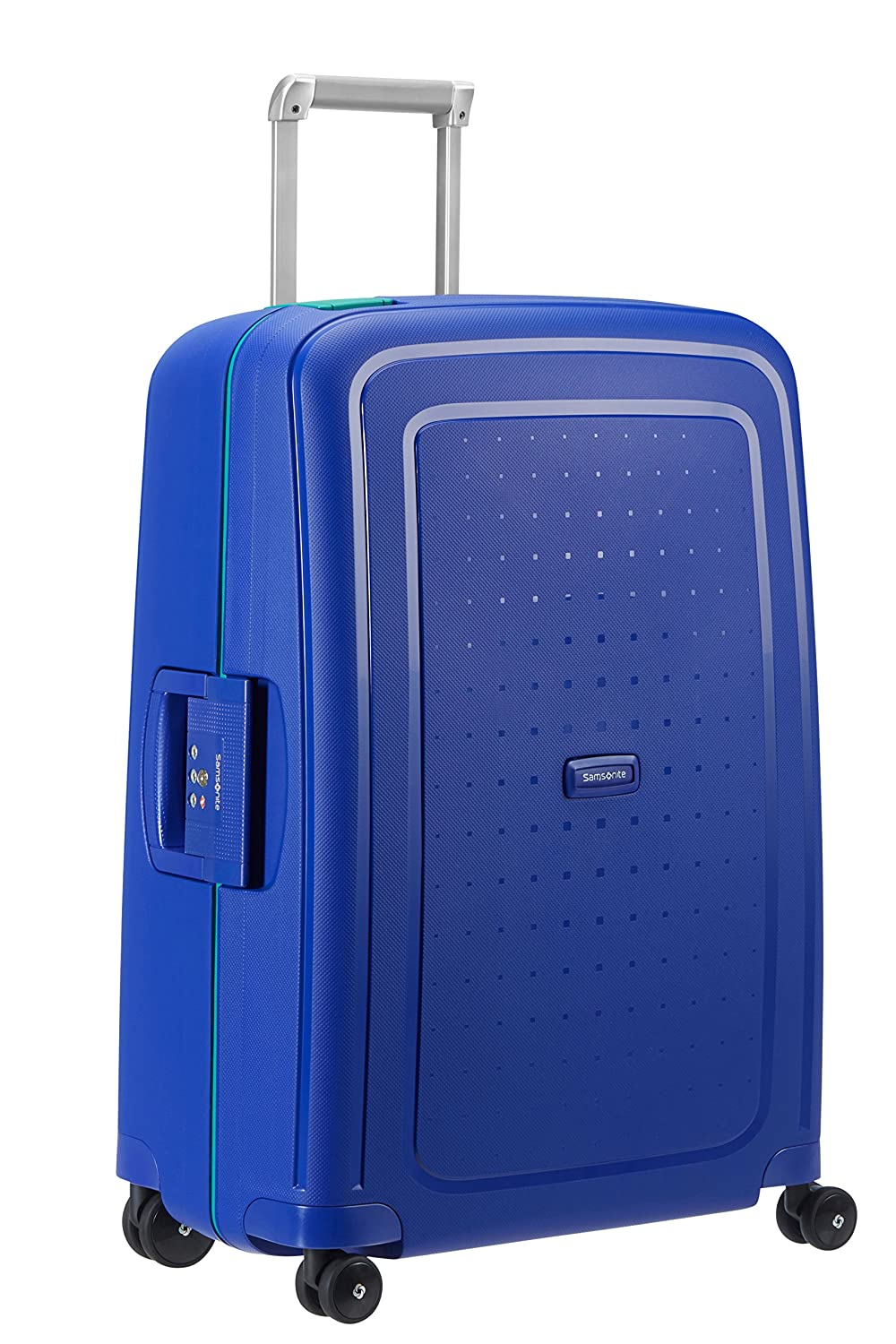 Valise rigide Samsonite S'Cure 75 cm Navy Blue/Capri Blue bleu