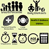 Health & Wellness Fitness Utilities - Workouts, Natural Remedies, Food Nutrition,..