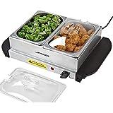 Jago - Calentador de comida - servidor para buffet - 2 x 1.5