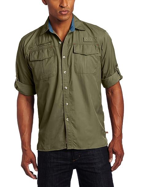 Amazon.com: Dakota Grizzly para hombre Kenyon camisa de ...