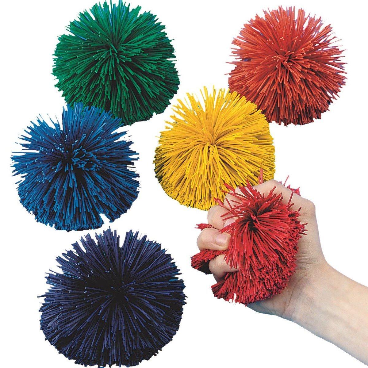 S & S weltweit Spectrum 4–1/5,1 cm kooshie Ball, Farbe (Set von 6)