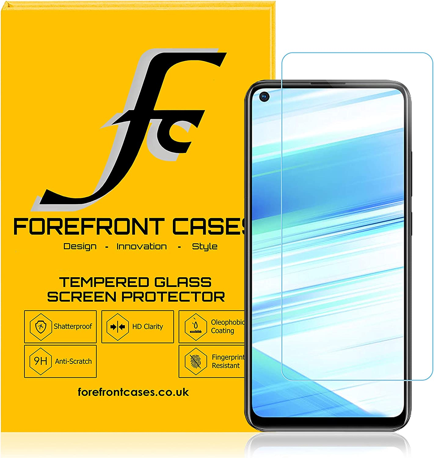 Toughened Protective Film for Mobile Screen 25 PCS for Vivo Z1 Pro Z5x Fingerprint Proof Full Screen Tempered Glass Film yf