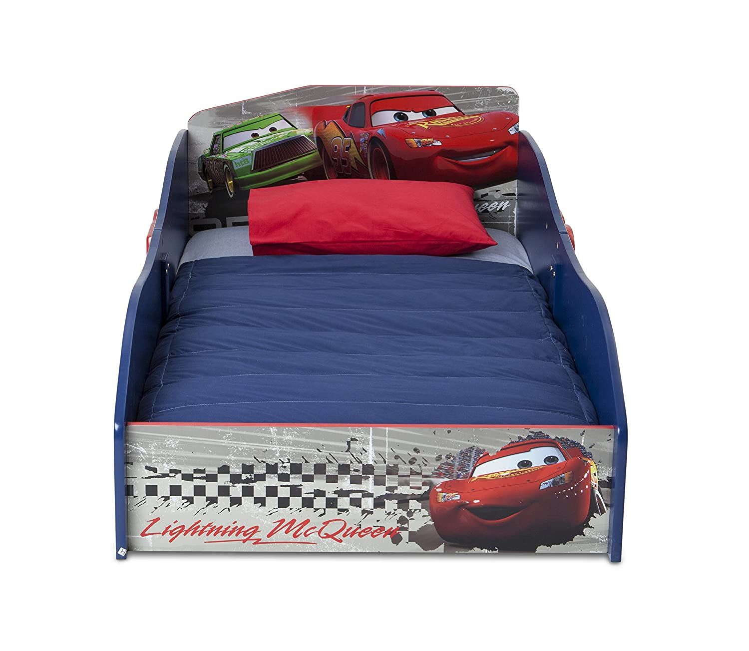 Amazon Delta Children Wood Toddler Bed Disney Pixar Cars