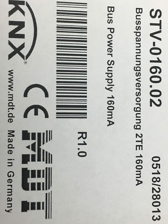 320mA // 640mA  REG Spannungsversorgung STV 160mA // MDT KNX Bus