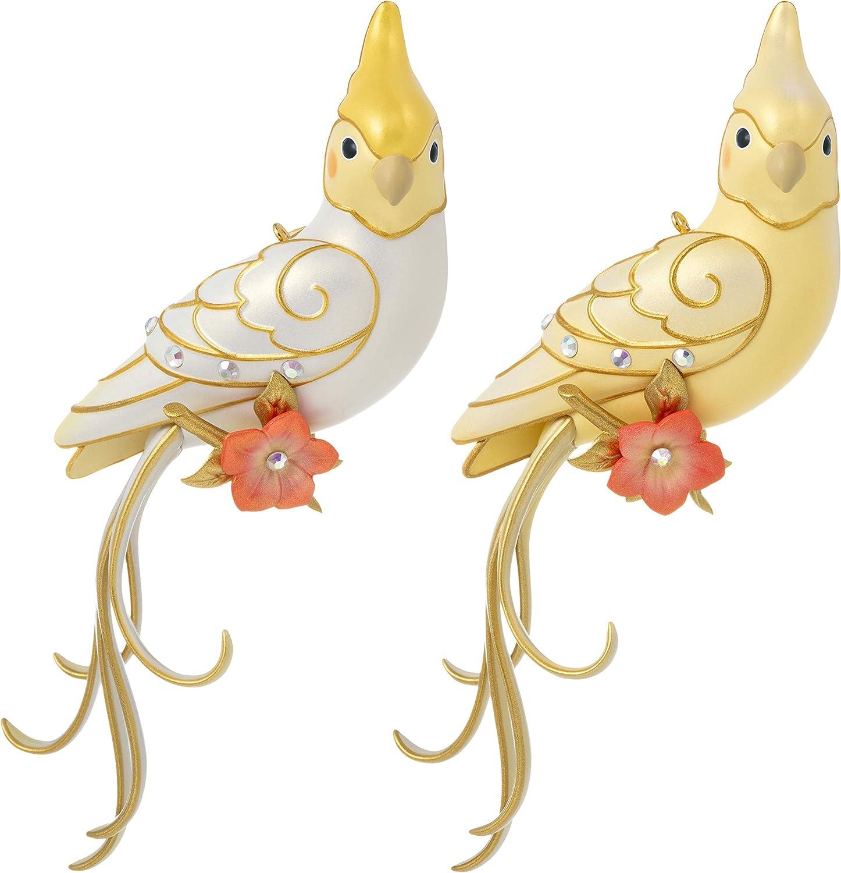 Hallmark Keepsake Christmas Ornament 2020, Clever Cockatiel Surprise Mystery Box