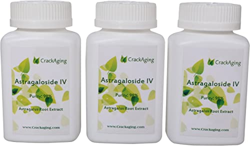 Super-Absorption Astragaloside IV 98 - Anti-Aging Supplement Brand crackaging 50mg Cap 90 Caps in 3 Bottles